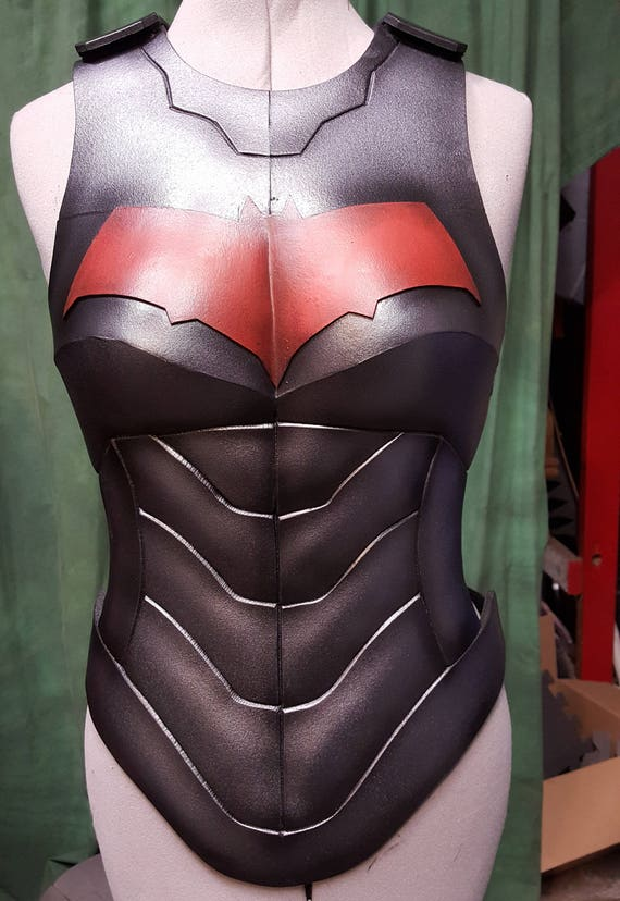 Redhood female body only foam armor templates from for Iron man foam armor templates