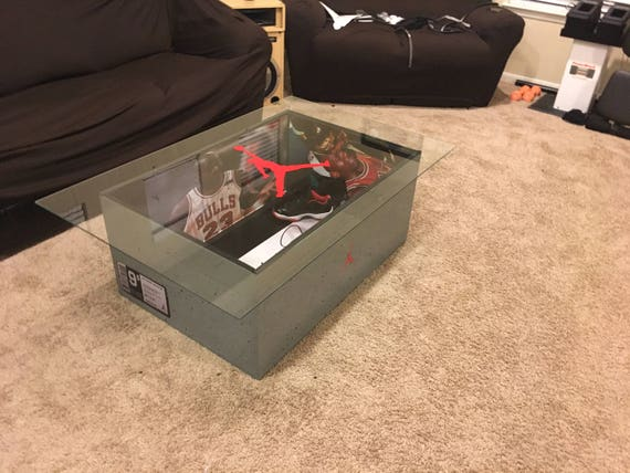 Giant Air Jordan Giant Shoe Box Coffee Table