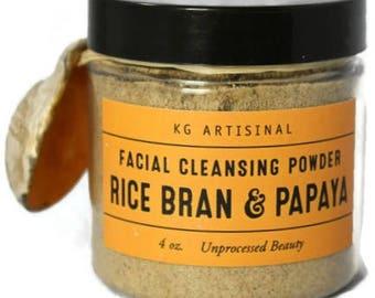 Rice Bran & Papaya Facial Cleansing Powder