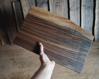 Cutting board, cutting board, Scnei walnut, bread wood