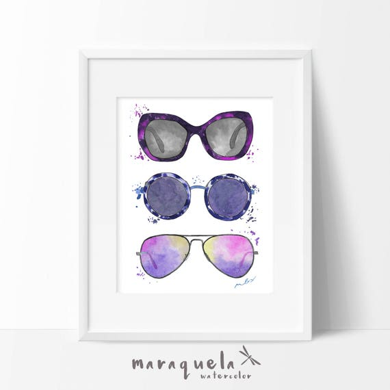 SUNGLASSSES Fashion illustration