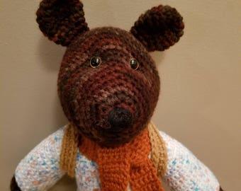 Benson, the hiking Bear