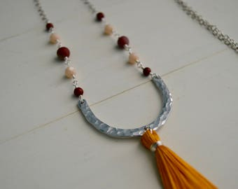 Goldenrod Charleston Necklace