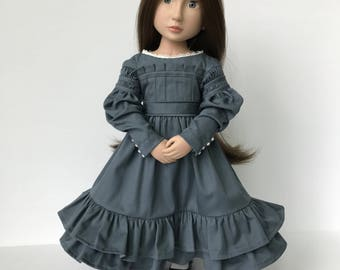 A Girl for All Time 1830's Era dress with full Gigot Sleeves