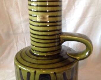 West German/Vintage Carstens vase designed by Heinz Siery