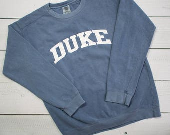 Customized School Comfort Colors Sweatshirt - Block Lettering - SHIPPING INCLUDED