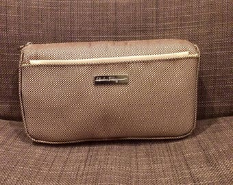 Authentic Salvatore Ferragamo Toiletry/Makeup Bag