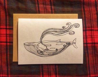 Card (Whale)