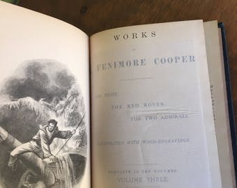 1892 Cooper's Works Vol. 3 Fenimore Cooper