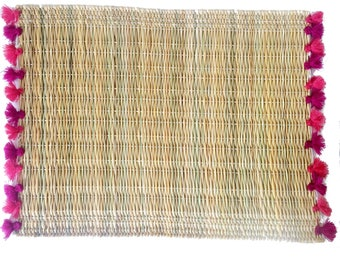 LOLA placemats with tassels - set of 2 BAJA