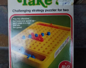 1977 Take 5 Game by Gabriel Challenging Strategy Game by Hi-Q