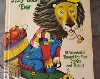 1971 Richard Scarry's Best Story Book Ever Hardcover