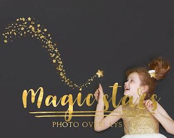 62 Magic stars photo overlays