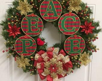 Christmas Peace Wreath
