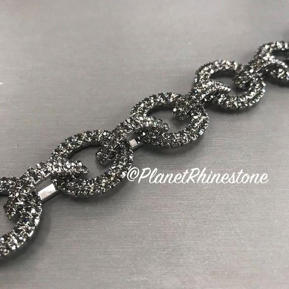 Rhinestone Chain Trim Swarovski Shine #0112