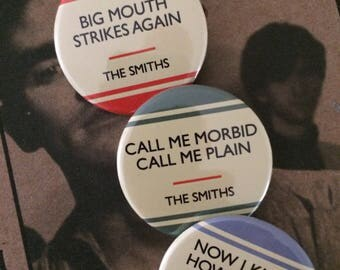 Badge Set - The Smiths