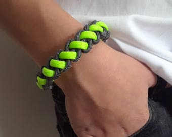 Green Neon- Bracelet/Keychain 2 in 1
