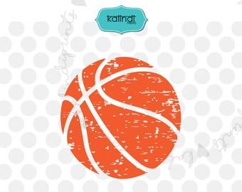 Grunge basketball svg, grunge svg, distressed svg, sports svg, basketball cut file, basketball clip art, basketball dxf, svg   sp3-2