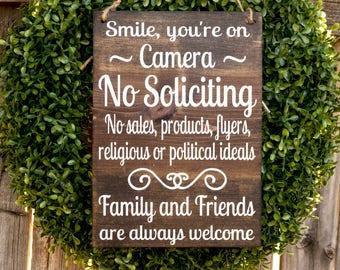 No Soliciting Etsy