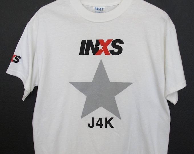 INXS J4K Just for Kicks Tour Vintage Tshirt