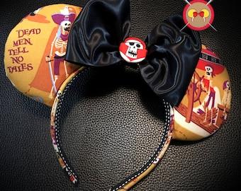 SHAG Pirates of the Caribbean Mickey Ear Headband