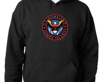 HOODIE Zombie Outbreak Response Team Hoodie National Defense Sweatshirt