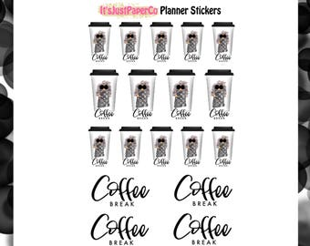 Coffee Break (Planner Stickers)