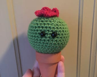 MADE TO ORDER handmade crochet amigurumi art toy stuffed animal desk decoration cactus cacti