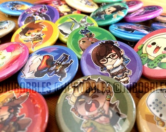 "Overwatch 1.25"" Pinback Buttons"
