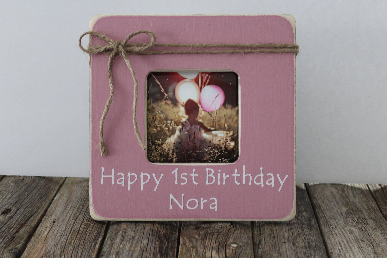 Personalisierte Geburtstag Bild Rahmen ersten Geburtstag