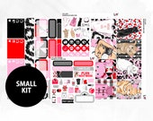 Cat Lady Small Kit | Matte Glossy Planner Stickers