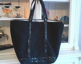Glitter bag vanessa bruno style little black dress black