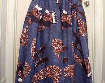 Ankara maxi skirt / dress