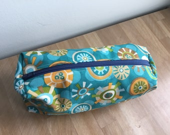 Travel / Accessory / Make-up Bag - Geo-flowers