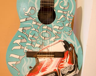 Artistic Acoustic Guitar