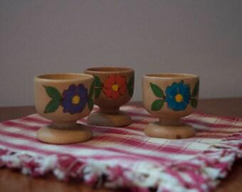 Set of Three Egg Cups
