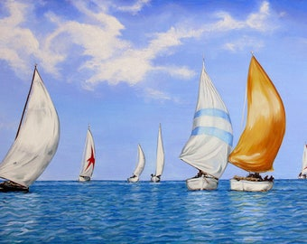 Regatta painted