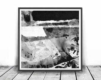 Black & White Abstract , Digital Download, Printable Art, Wall Art, Minimalist Painting, Minimalist Art, Scandinavian Art, loft home decor