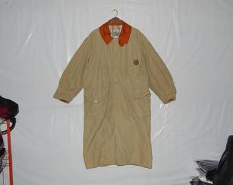 VINTAGE Nigel Cabourn trenchcoat/longcoat/mens/beige/guy/outerwear winter