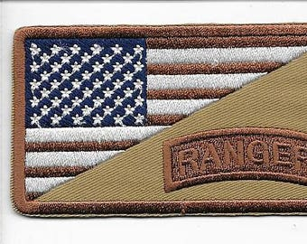 Ranger Afghanistan Iraq US Army 75th Ranger Infantry Regiment Airborne Shoulder subdued