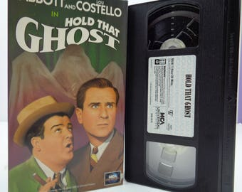 abbott and costello Hold that Ghost VHS Tape