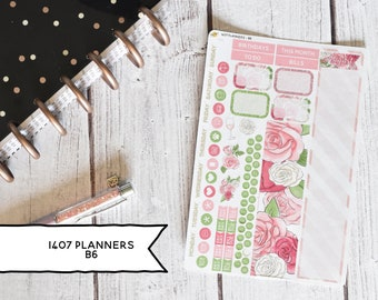 1407 Planners B6 Size Monthly Kit | You pick the month! 195L