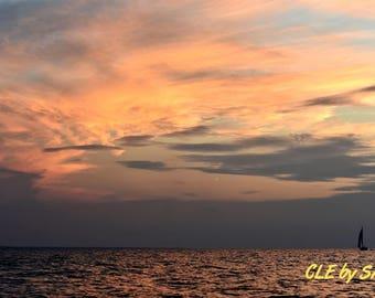 Erie Sunset