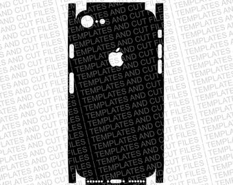 Iphone 8 Skin template for cutting or machining - Digital Download - For plotters, CNCs, Laser cutters, Silhouette Cameo, Cricut, etc