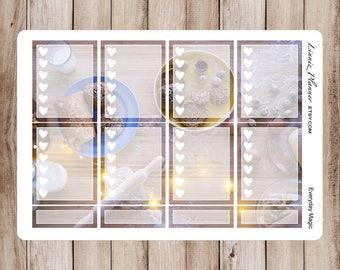 Everyday Magic Checkboxes   Stickers for your Erin Condren, Happy Planner, Kikki K, Filofax and more