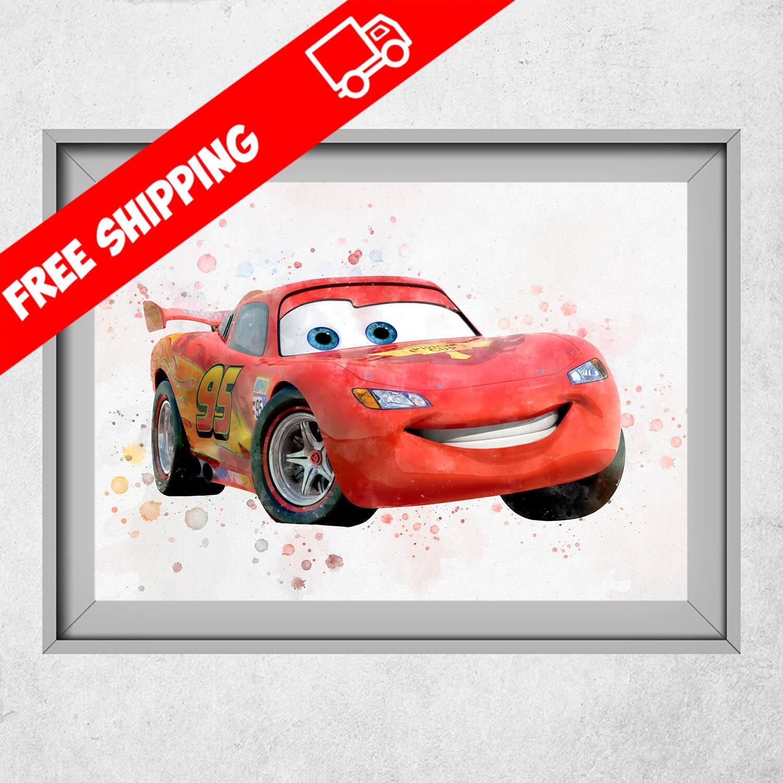 Uncategorized Disney Cars Pictures To Print disney cars print lightning mcqueen poster description print