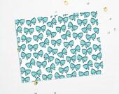 PRINTABLE Sheet - Tiffany Bows