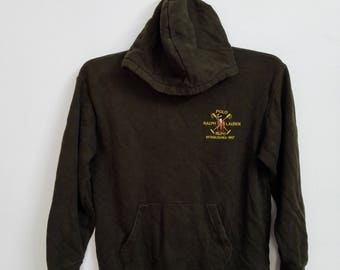 Vintage Polo Ralph Lauren Hoodie Jacket Size 160