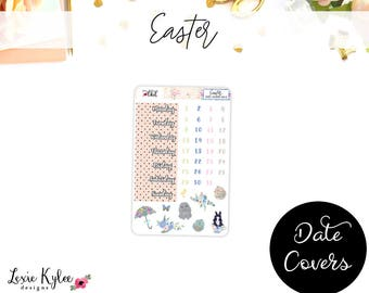 Date Covers  ||  Easter [103-5]
