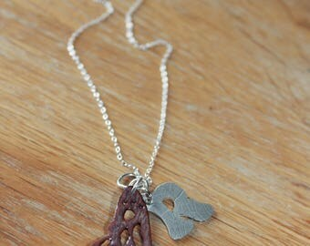 Personalised Butterfly pendant